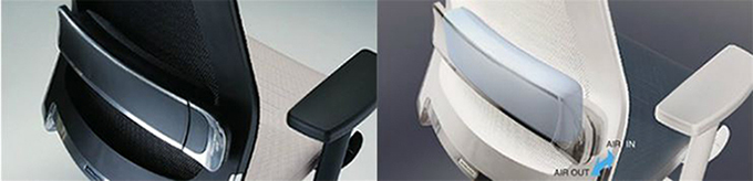 空气腰靠员工椅/管理职椅 airfort
