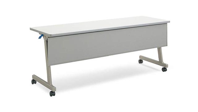 会议桌 Leafline 带挡板
